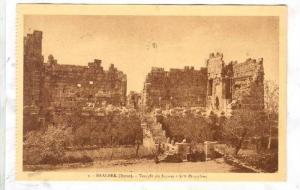 BAALBEK (Syrie), now Lebanon, 1910-30s ;  Temple de Jupiter ; Les Propylees