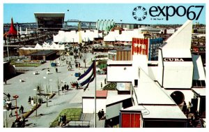 Canada Montral Expo 67  General View on the Ile Notre-Dame