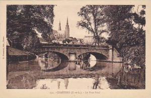 Le Pont Neuf, Bridge, Chartres (Eure et Loire), France, 1900-1910s