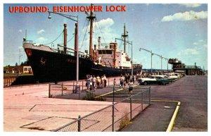 New York  Cargo Ship Upbound , Eisenhower Lock