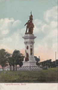 Philippines Manila Legaspi Monument