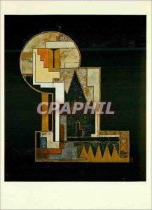 Postcard Modern Pattern box has games enamelled Jean Goulden 1927