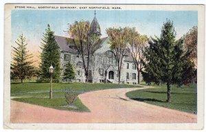 East Northfield, Mass, Stone Hall, Northfield Seminary