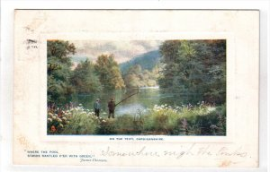 CARDIGANSHIRE, Wales, PU-1908; On The Teify
