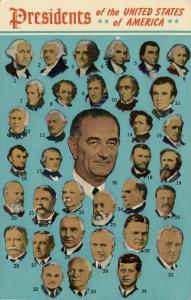 The Presidents of the United States Lyndon B. Johnson (1963)