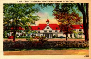 Massachusetts Marion Tabor Academy Administration Building and Dormitories