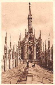 Italy Old Vintage Antique Post Card Milano La Guglia Maggiore Unused
