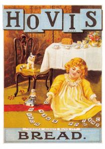 Postcard Hovis Bread Reproduction Advertising Card F30