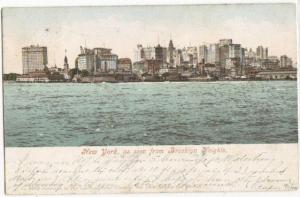 NYC As Seen From Brooklyn Heights 1905