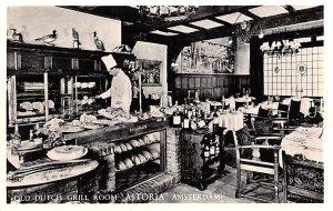Old Dutch Grill Room Astoria Amsterdam Holland Unused