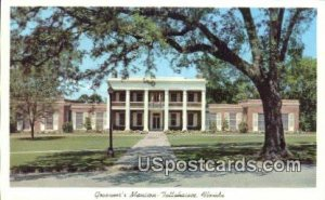Governor's Mansion - Tallahassee, Florida FL Postcard