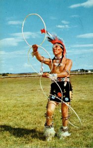 Oklahoma Indian City Hoop Dancer At Anadarko indian Exposition