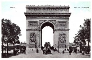 France Paris   Arc de Triomphe