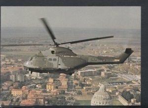 Military Aviation Postcard - Aerospatiale / Westland SA330 Puma Helicopter T8142