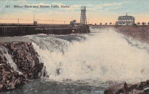 Milner Dam and Milner Falls, Idaho, PU-1918