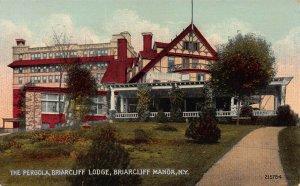 The Pergola, Briarcliff Lodge, Briarcliff Manor, N.Y., Early Postcard, Unused