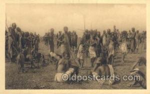 Ruanda African Nude Nudes Postcard Post Card  Ruanda