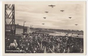 Germany; Berlin, Tempelhof Airport, Aircraft On Apron RP PPC Unused, By Klinke