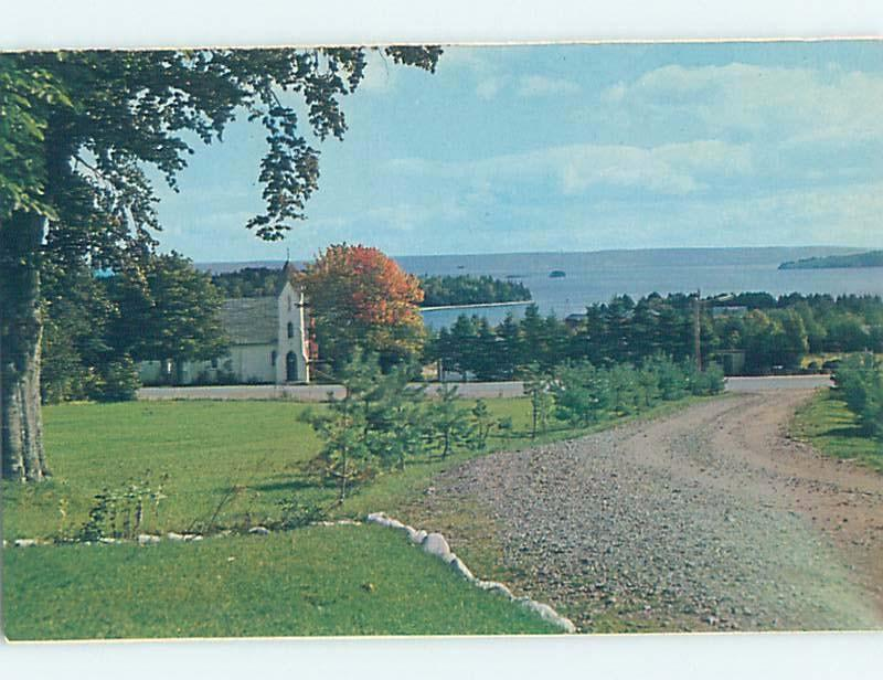 Unused Pre-1980 CHURCH Baddeck On Cape Breton - Near Sydney Nova Scotia NS G3041