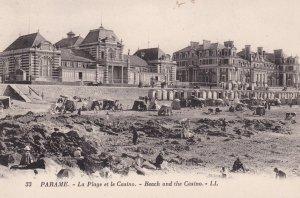 PRAME, Ille et Vilaine, France; La Plage et le Casino, Beach and the Casino, ...