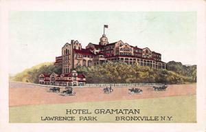 Hotel Gramatan, Lawrence Park, Bronxville, New York, Early Postcard, Used