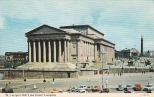 England Liverpool St George's Hall Lime Street