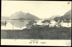 norway norge, DIGERMULEN, Panorama, Houses (1906)