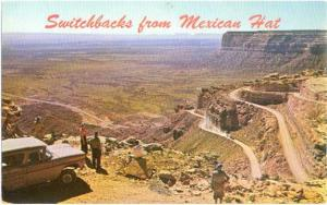 Switchbacks from Mexican Hat Utah to Natural Bridges Mon.