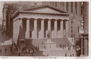 RP: NEW YORK CITY , 1930-40s ; Sub Treasury Building