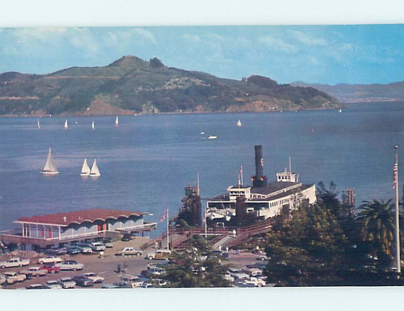 Pre-1980 STORE SHOP SCENE Sausalito - Near San Francisco California CA AF3003