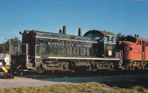Kansas City Southern Railway EMD NW-2 Locomotive #1221