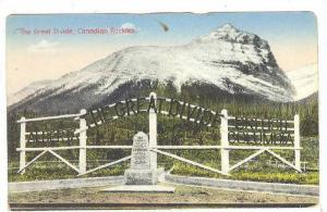 The Great Divide, Canadian Rockies, Canada, 1900-1910s