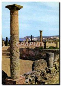 Postcard Modern Brava Ampurias Roman Ruinas
