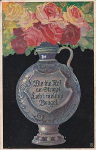 AS: Still-Life, Flowers in Vase, Kunst #185, 00-10s