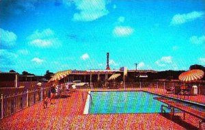 Mississippi Meridian Nelva Courts Restaurant & Pool