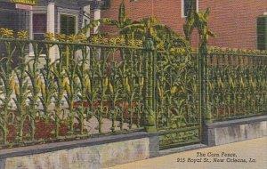 Louisiana New Orleans The Corn Fence 915 Royal Street Curteich
