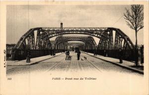 CPA Paris 13e Paris-Pont rue de Tolbiac (311424)
