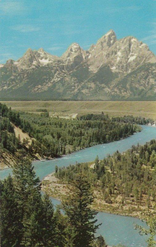 Grand Tetons & Snake River , Wyoming , 1950-60s