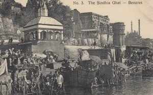 BENARES , India , 00-10s ; The Sindhia Ghat