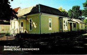 Iowa Boone Birthplace Of Mamie Doud Eisenhower