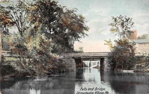 6927  ME   Stroudwater Village  Falls and Bridge
