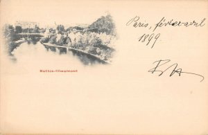 US3193 France Buttes Chaumont River Panorama paris