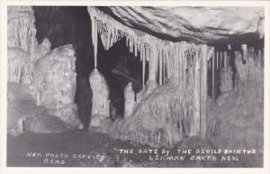 The Gate By The Devils Bath Tub Lehman Cave Caves Nevada Reno Nevada Real Photo