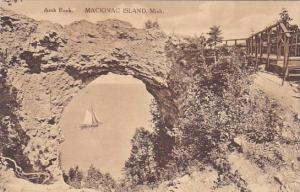 Arch Rock Mackinac Island Michigan Albertype