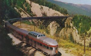 Stoney Creek Bridge Highest Bridge On Canadian Pacific Railway