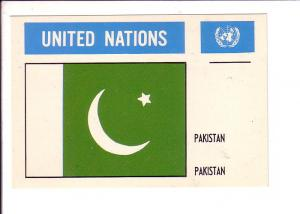 Pakistan, Flag, United Nations