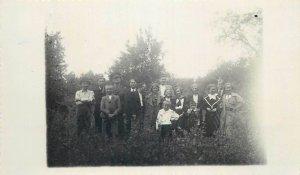 Romania Turti Satu mare 1937 social history photo postcard