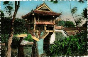 CPA AK INDOCHINA Hanoi Pagode dite Mot Cot VIETNAM (957205)
