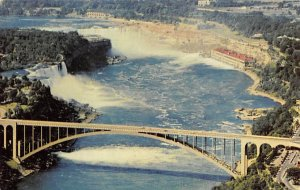 American Airlines over Niagara Falls Airplane 1957