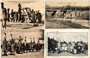 NIGER 20 CPA AFRIQUE Vintage AFRICA Postcards pre-1940